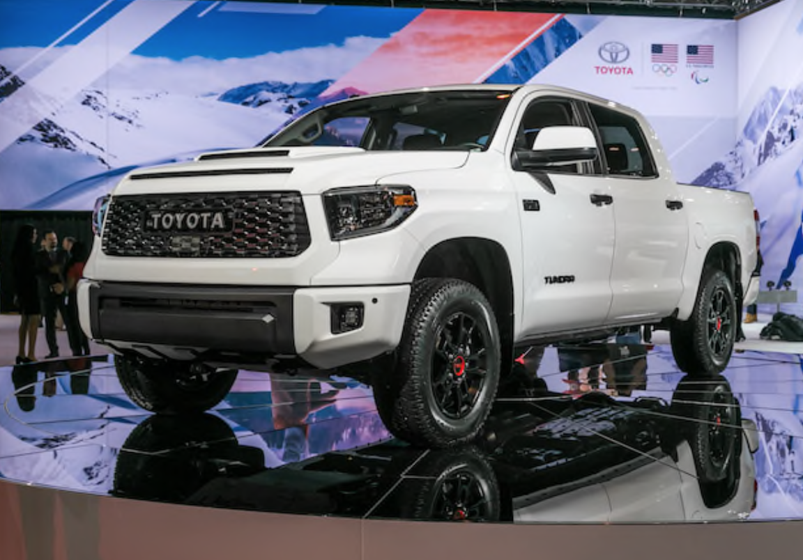 2019 Toyota TRD Pro Series Unveiled at Chicago Auto Show ...