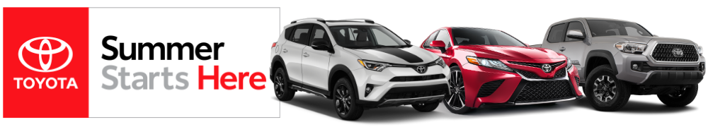 Summer Starts Here At Toyota Of Greensburg Toyota Of