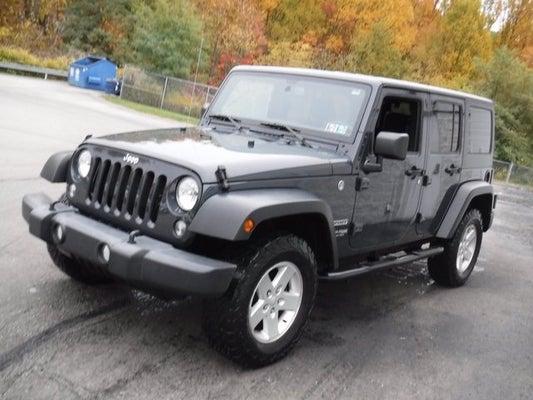 2018 Jeep Wrangler JK Unlimited Sport S - Greensburg PA ...